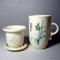 Flower Mug with Infuser